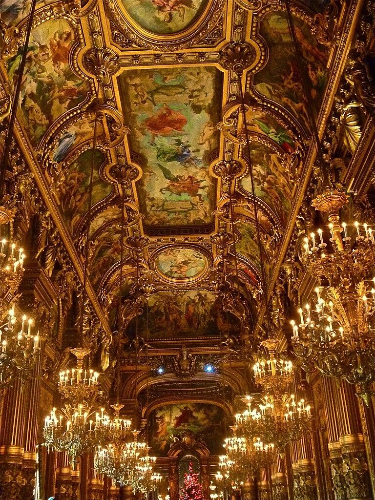 House Of Commons Foyer Ceiling : File ceiling grand foyer of opéra garnier december