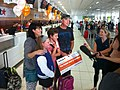 Celebrating 6m passengers flown through Cairns Airport (9074209500).jpg