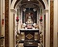 Cella di sant'agnese di montepulciano, con affreschi di nicola nasini, 1704, 06.jpg