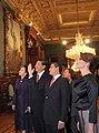 Cena de Estado que en honor del Excmo. Sr. Xi Jinping, Presidente de la República Popular China, y de su esposa, Sra. Peng Liyuan (8960390756).jpg