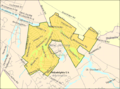 Census Bureau map of Medford Lakes, New Jersey.png