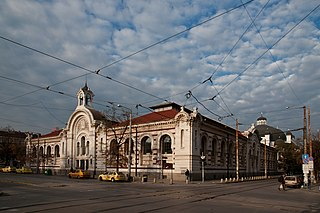 Central Sofia Market Hall architectural structure