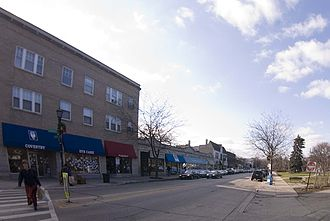Central Street (Evanston, Illinois) - Shops in Central Street