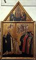 Cerchia dell'orcagna, San Pietro Martire consegna gli stendardi ai Capitani di Santa Maria del Bigallo, 1360.JPG