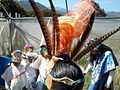 Ceremonia azteca de bienvenida a la primavera en Ayahualulco, Veracruz, México. 35.jpg