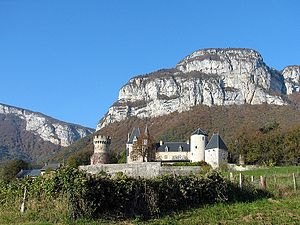 Château de La Bâtie-Seyssel - General view of Château de La Bâtie-Seyssel