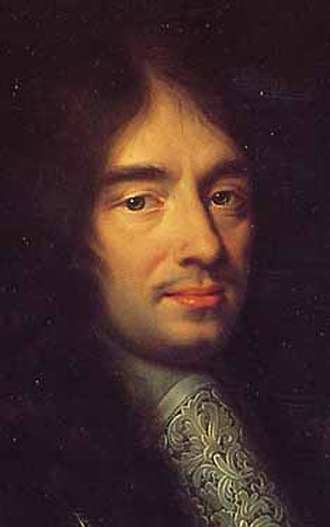 Charles Perrault - Portrait (detail) by Philippe Lallemand, 1672