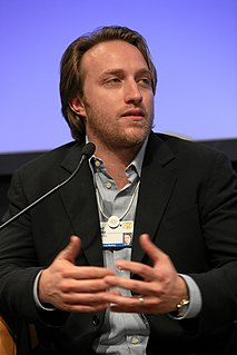 Chad Hurley American businessman, co-founder of YouTube