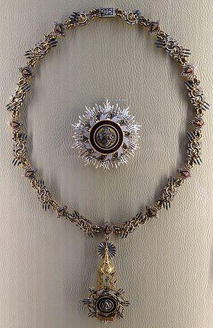 Order of the Royal House of Chakri - Image: Chakri Collar