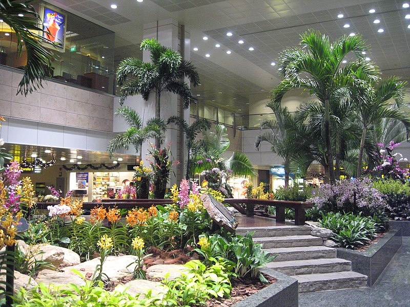 File:Changi Airport, Terminal 2, Restricted Area 9.JPG