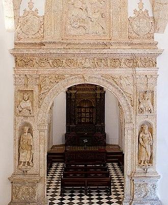 Campuzano Polanco family - Private Chapel Virgin del Rosario of the Campuzano Polanco in the Convent of the Dominican Order