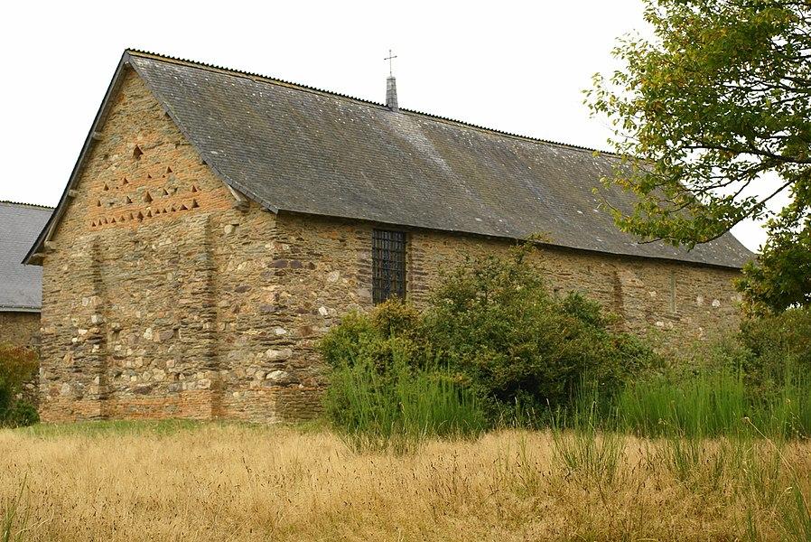 Chapelle Saint-Étienne de Guer (Morbihan, France)