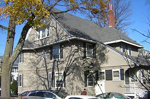 Charles H. Burgess House - Image: Charles H. Burgess House Quincy MA 02