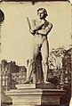 Charles Nègre, Spartacus, Tuileries Gardens, Paris, June 1859.jpg