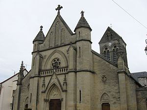Charly-sur-Marne - The church of Charly-sur-Marne
