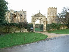 Chastleton House and St. Mary's Church - geograph.org.uk - 313997.jpg