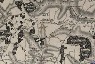 Chattisham Human settlement in England