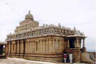 Chavundaraya - Chavundaraya Jain temple (10th century) on Chandragiri Hill