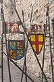 Chepstow Castle Heraldry.jpg