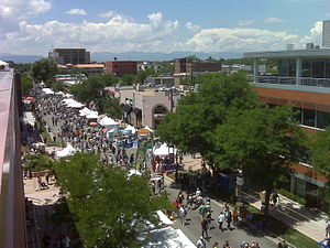 Cherry Creek, Denver - The July 4th Arts Festival in the Cherry Creek commercial district
