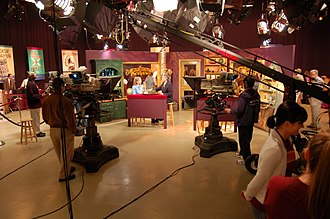 Maryland Public Television - Inside MPT's Studio A during the taping of Chesapeake Collectibles in June 2010