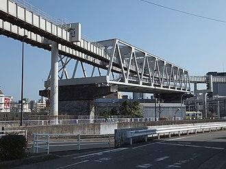 Warren truss - Chiba Urban Monorail, Japan
