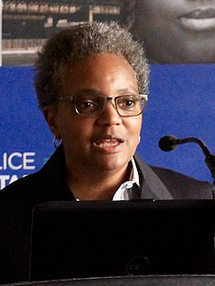 Lori Lightfoot 56th Mayor of Chicago