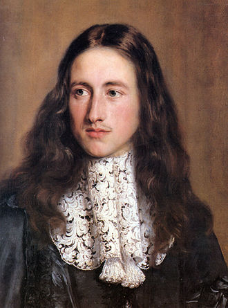 Point de Venise - Portrait of a young man of the Chigi family wearing a gros point de Venise collar, 17th century