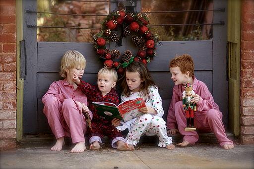 Children reading The Grinch