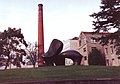 Chimney, Clarks Shoes factory, Street - geograph.org.uk - 1700323.jpg