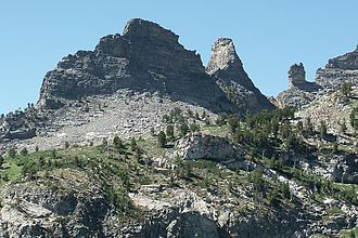 East Humboldt Range - Image: Chimney Rock NV