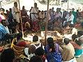 Chinalingala Sri Kodanda Ramalayam pradhama varshikothsavam homam 2.jpg