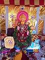 Chinalingala dussera 2018 Mahishasuramardhini devi Alankaram.jpg