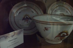 Old China Trade - Chinese export porcelain c. 1810