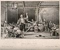 Chinese opium smokers in a saloon experiencing various effec Wellcome V0019168.jpg