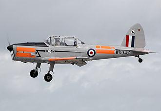 Strake (aeronautics) - Spin strakes on DHC-1 Chipmunk