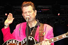 Chris Isaak - the hot, desirable, enchanting,  actor, musician,   with German, Italian,  roots in 2020