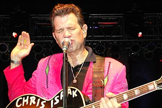 Chris Isaak - Isaak at the Pompano Beach Amphitheater, 2006
