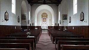 Christ the King Church, Wimbledon Park - Image: Christ the King Church interior, Wimbledon Park