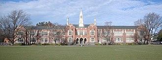 Christchurch Boys' High School - Christchurch Boys' High in July 2012
