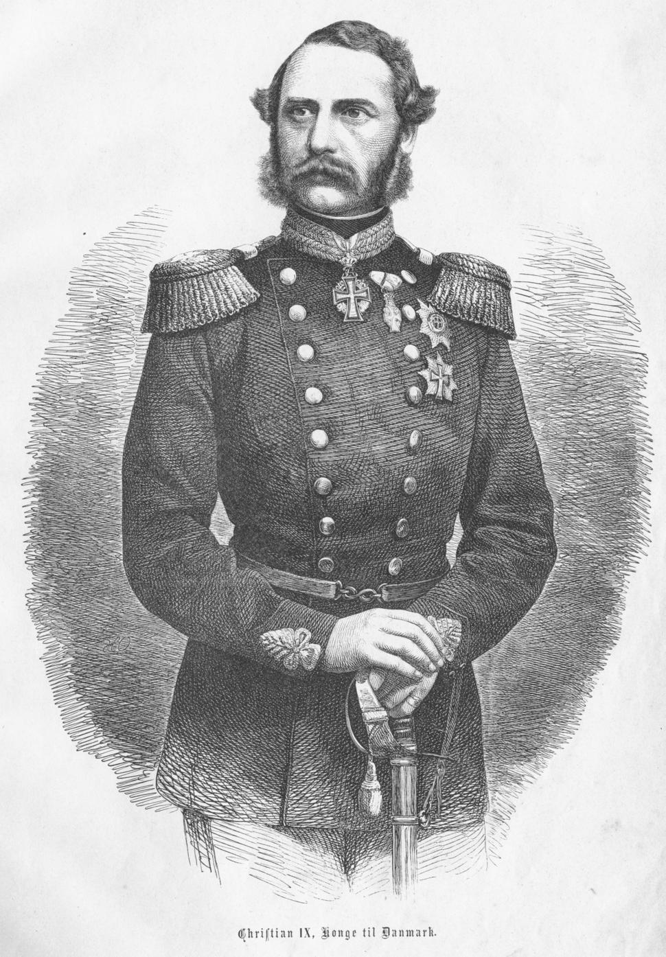Christian IX - Konge til Danmark