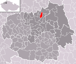 Location of Chudoslavice