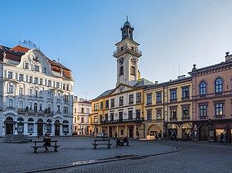 Cieszyn - Market square