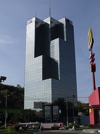 Exterior view of the citi tower