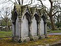 City of London Cemetery - St Dionis Backchurch reburials monument - Newham, London England 1.jpg