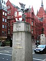 City of London marker, High Holborn WC2 - geograph.org.uk - 1318996.jpg