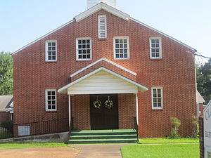 Clarence, Louisiana - Clarence Baptist Church