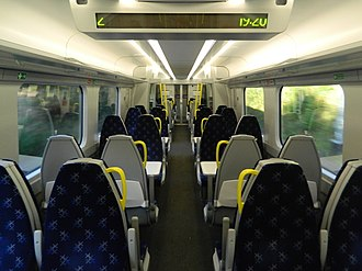British Rail Class 385 - Image: Class 385 Standard Class Interior