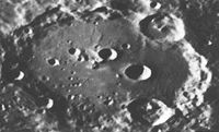 Clavius uf em Mo. (NASA-Photo)
