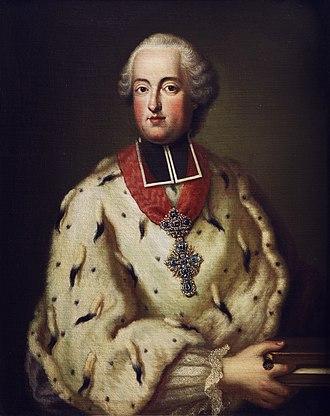 Clemens Wenceslaus of Saxony - Image: Clemens Wenzeslaus von Sachsen Portrait 18Jh